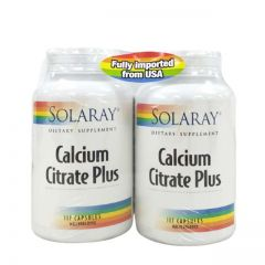 SOLARAY CALCIUM CITRATE PLUS 117S X 2