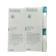 EUBOS SENSITIVE SHOWER OIL F 200ML X 2