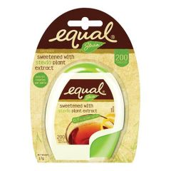 EQUAL STEVIA NO CALORIE SWEETENER TABLET 200S