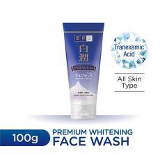 HADA LABO PREMIUM WHITENING FACE WASH 100G
