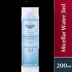 EUCERIN DERMATO CLEAN 3 IN 1 MICELLAR CLEANSING FLUID 200ML