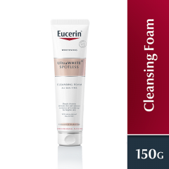 EUCERIN WHITE THERAPY GENTLE CLEANSING FOAM 150ML