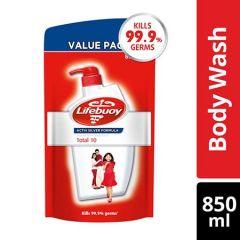 LIFEBUOY BODY WASH TOTAL 10 REFILL 850ML