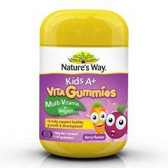 NATURE'S WAY KIDS A+ VITA GUMMIES 120'S