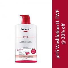EUCERIN PH5 WASH LOTION SENSITIVE SKIN 1000ML X 2