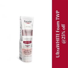 EUCERIN WHITE THERAPY GENTLE CLEANSING FOAM 150ML X 2