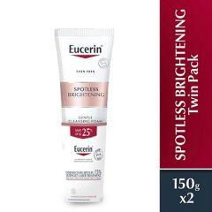 EUCERIN SPOTLESS BRIGHTENING CLEANSING FOAM 150ML X 2