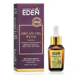 GARDEN OF EDEN ORGANIC ARGAN OIL PLUS SERUM 20ML