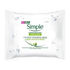 SIMPLE KIND TO SKIN MICELLAR CLEANSING WIPES 25S