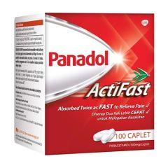 PANADOL ACTIFAST CAPLET 500MG 10X10