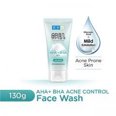 HADA LABO AHA+BHA ACNE CONTROL MILD EXFOLIATING FACE WASH 130G