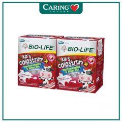 BiO-LiFE KIDS COLOSTRUM+MULTIVITAMINS & MINERALS STRAWBERRY CHEWABLE BITES 60S X 2 + PREMIUM
