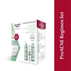 EUCERIN PRO ACNE SOLUTION REGIMEN SET (CLEANSING GEL 400ML + TONER 200ML + DAY MATT WHITENING 50ML)