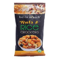 HELLO MARCH NUTS AND RICE CRACKERS 30G