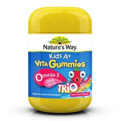 NATURES WAY KIDS A+ OMEGA 3 TRIO 60S