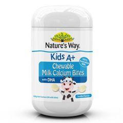 NATURES WAY KIDS A+ MILK CALCIUM BITES 60S