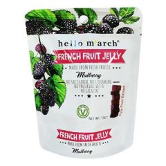 HELLO MARCH FRENCH FRUIT JELLY MULBERRY 50G