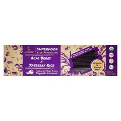 JASSBERRY SUPERFOOD RICE PASTA FETTUCCINE- ACIA BERRY/JASBERRY RICE 227G