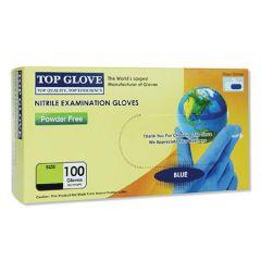 TOP GLOVE NITRILE GLOVE M 100S