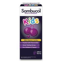 SAMBUCOL KIDS BLACK ELDERBERRY 250ML
