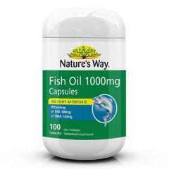 NATURES WAY FISH OIL 1000MG 100S