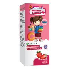 CHEWIES IMMUNOLICIOUS PLUS SYRUP 120ML