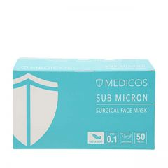 MEDICOS 3PLY ULTRA SOFT MASK SEA BLUE 50S