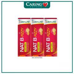 BiO-LiFE NAT B FIZZY 10S X 3