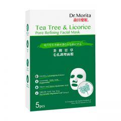 DR. MORITA TEA TREE & LICORICE PORE REFINING FACIAL MASK 5S