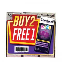 SAMBUCOL KID BLACK ELDERBERRY 120ML B2F1
