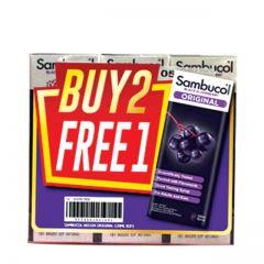 SAMBUCOL ORIGINAL BLACK ELDERBERRY 120ML B2F1