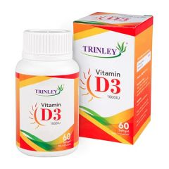 TRINLEY VITAMIN D3 1000IU 60S