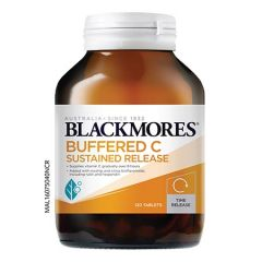 BLACKMORES BUFFERED C SUSTAINED RELEASE 120S
