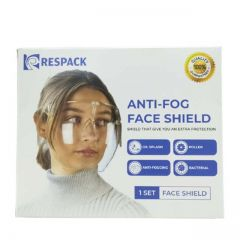 RESPACK ACRYLIC FACE SHIELD 1S