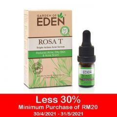GARDEN OF EDEN ROSA T TRIPLE ACTION ACNE SERUM 5ML