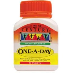 21ST CENTURY ONE A DAY TABLET 30S