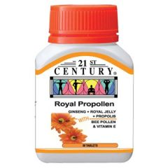 21ST CENTURY ROYAL PROPOLLEN TABLET 30S