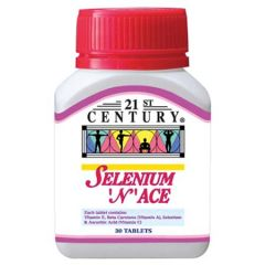 21ST CENTURY SELENIUM N ACE TABLET 30S