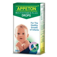 APPETON MULTIVITAMIN PLUS INFANT DROPS 30ML