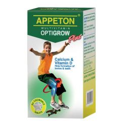 APPETON MULTIVITAMIN OPTIGROW PLUS CHEWABLE TABLET 60S