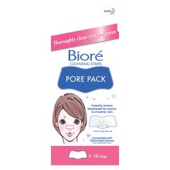 BIORE PORE PACK CLEANSING WHITE STRIP 10S