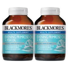 BLACKMORES EVENING PRIMROSE OIL + FISH OIL CAPSULE 120S X 2