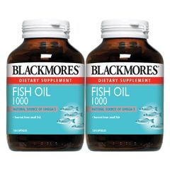 BLACKMORES FISH OIL 1000MG CAPSULE 120S X 2
