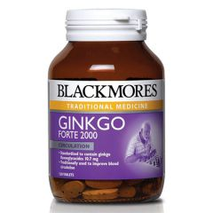 BLACKMORES GINKGO FORTE 2000 TABLET 120S