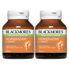 BLACKMORES HORSERADISH GARLIC 60T