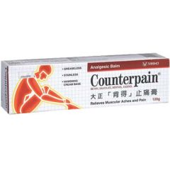 COUNTERPAIN ANALGESIC BALM 120G