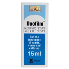 DUOFILM FOR TREATMENT OF WARTS 15ML