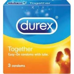 DUREX TOGETHER CONDOM 3S