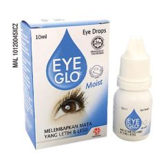 EYE GLO MOIST EYE DROPS 10ML - DRY & DULL EYES