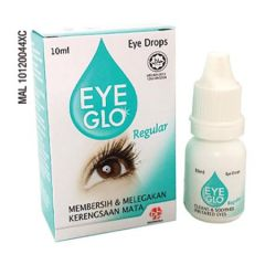 EYE GLO REGULAR EYE DROPS 10ML - IRRITATED EYES